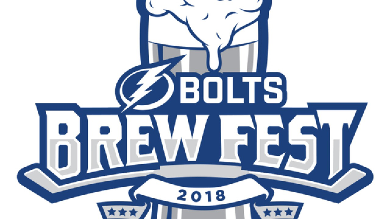 Tampa Bay Lightning bring together local and national brewers at second annual Bolts Brew Fest