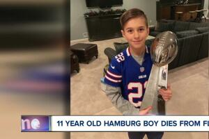 11-year-old dies from the flu