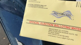 San Diego election ballot mail