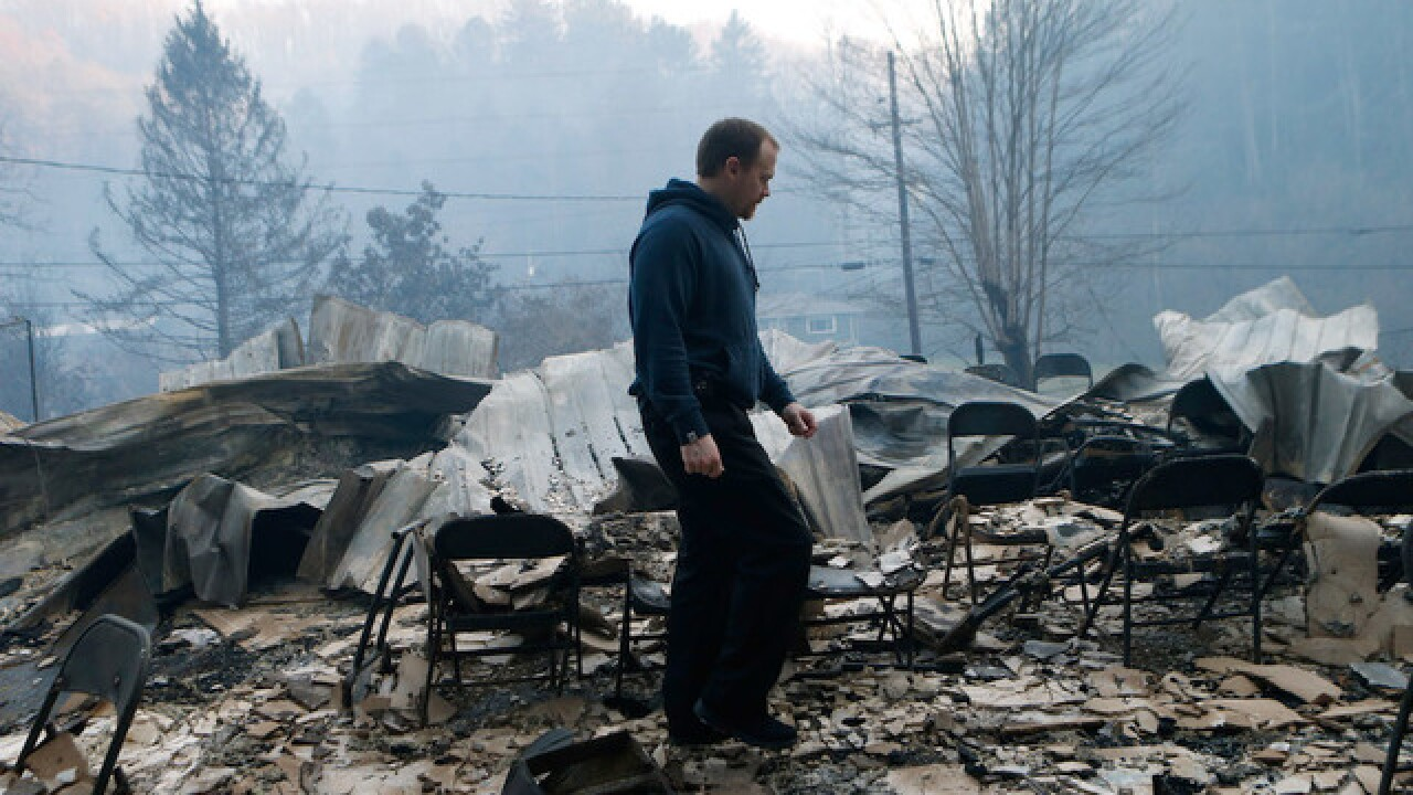 See the Gatlinburg wildfire aftermath on 360 video