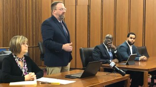 Cuyahoga County jailer in court