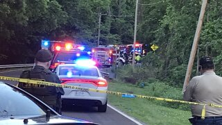 Jackson County crash and fire kills 2 kids.JPG