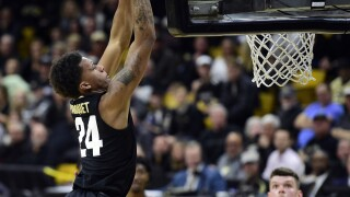 No. 18 Colorado holds off Southern California 70-66