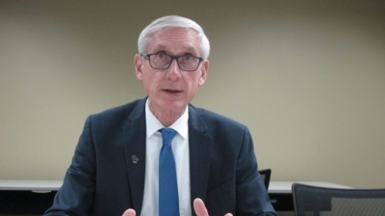 governor tony evers drug manufacturing plant
