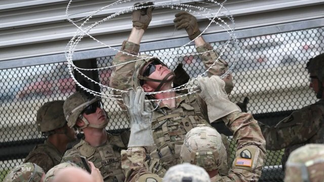 Pentagon is asked to extend border troop deployment