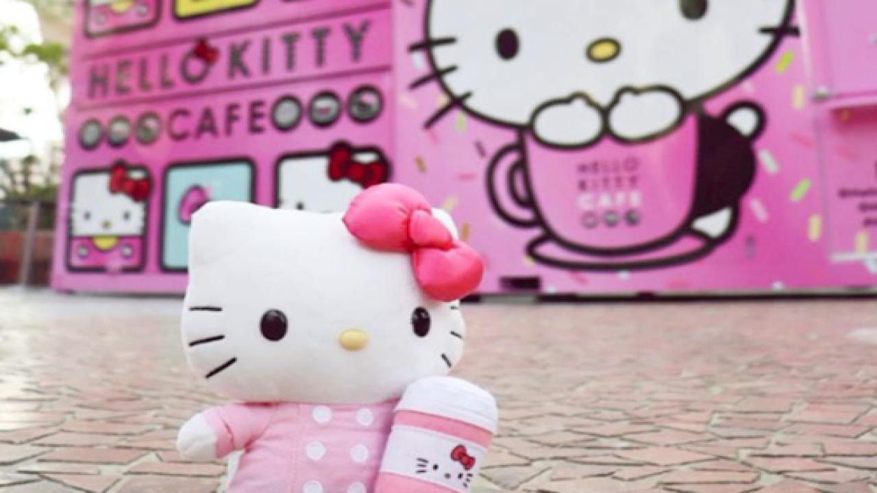 You Can Now Visit A Hello Kitty Cafe In Las Vegas