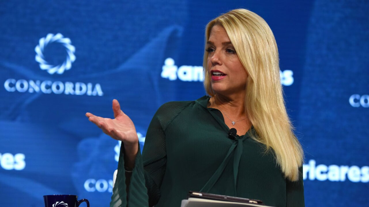 Former Florida Attorney General Pam Bondi expected to join White House communications team