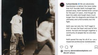 Skateboarder, clothing designer Keith Hufnagel dead at 46