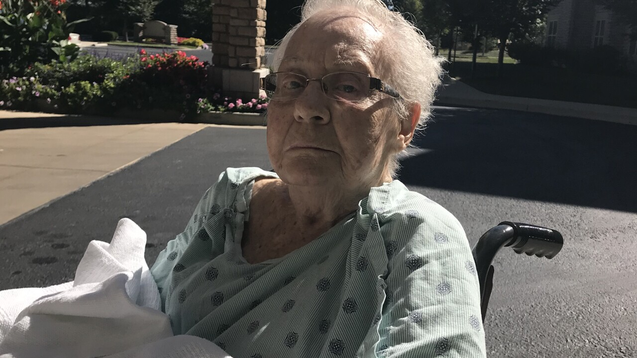 92-year old Delores had a stroke in September and needed long term care and rehabilitation.