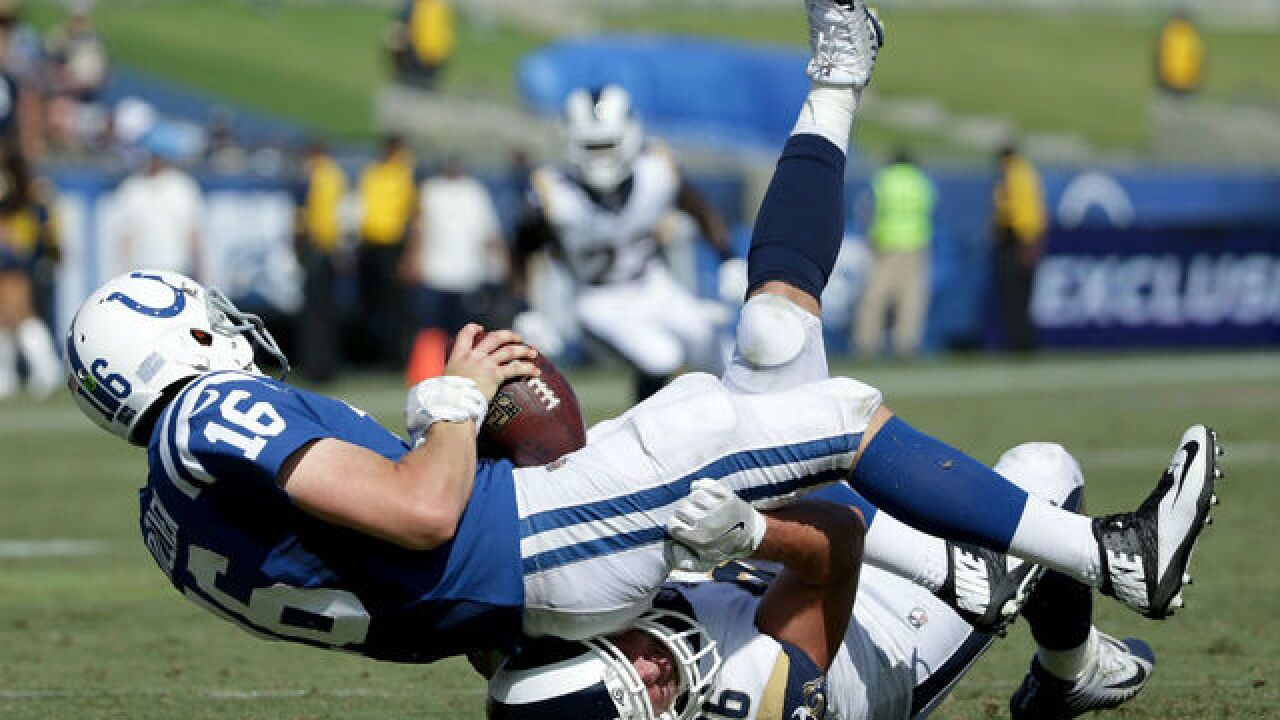 Colts' QB situation uncertain after mistake-filled opener