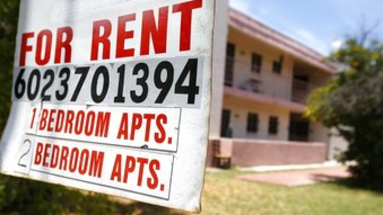 Landlord advocacy groups are fighting Gov. Doug Ducey's moratorium on evictions of people who have missed rent payments because they became ill or lost income due to the coronavirus. Photo/AP.