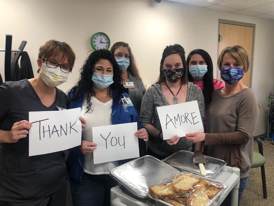 Chef Jenna and staff keep giving