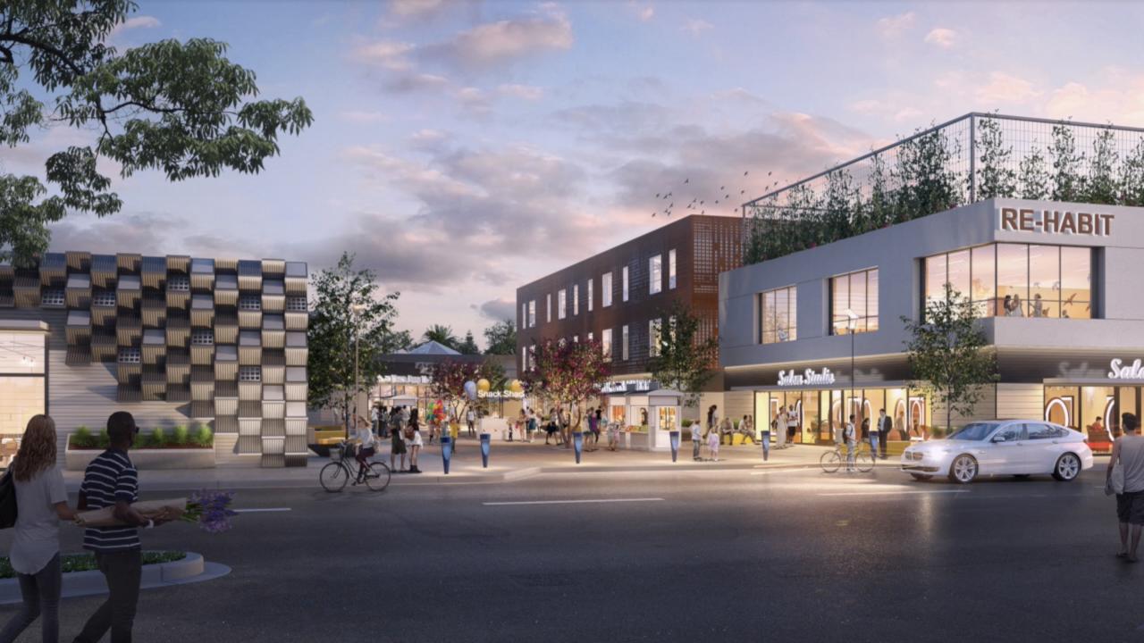 Aspiring to repurpose big box stores into homeless transitional housing