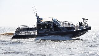 Peruvian Navy patrol boat