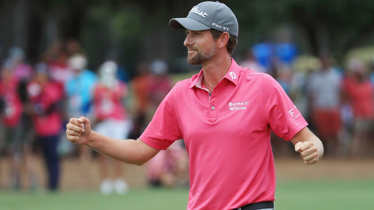 Webb Simpson completes a big win at Players Championship