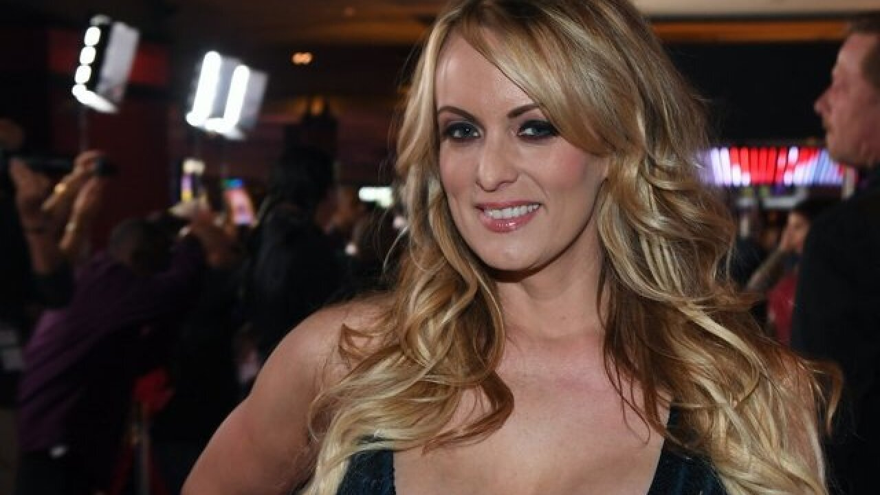 Stormy Daniels arrives in Detroit ahead of show Wednesday night