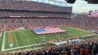 Empower field Broncos Lions
