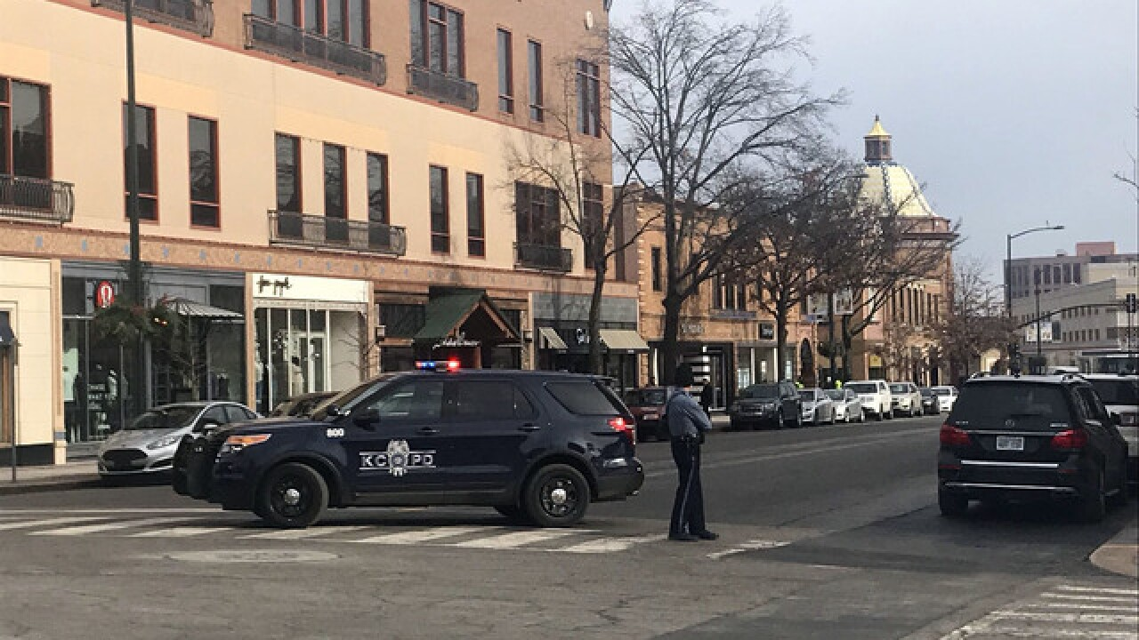 Police give all clear after bomb threat on Plaza
