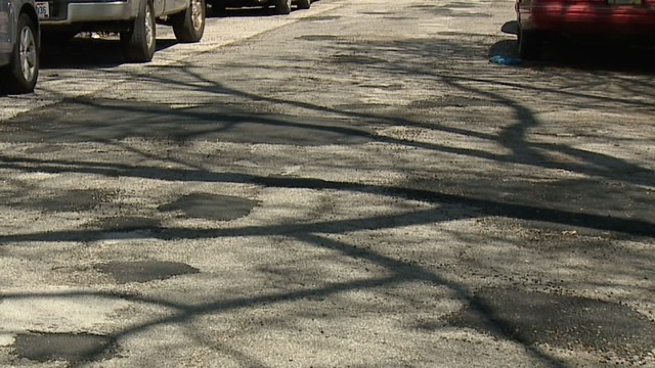 Councilmen getting their streets repaved first