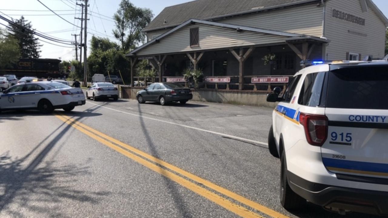 CSX Train Strikes, Kills Pedestrian in White Marsh