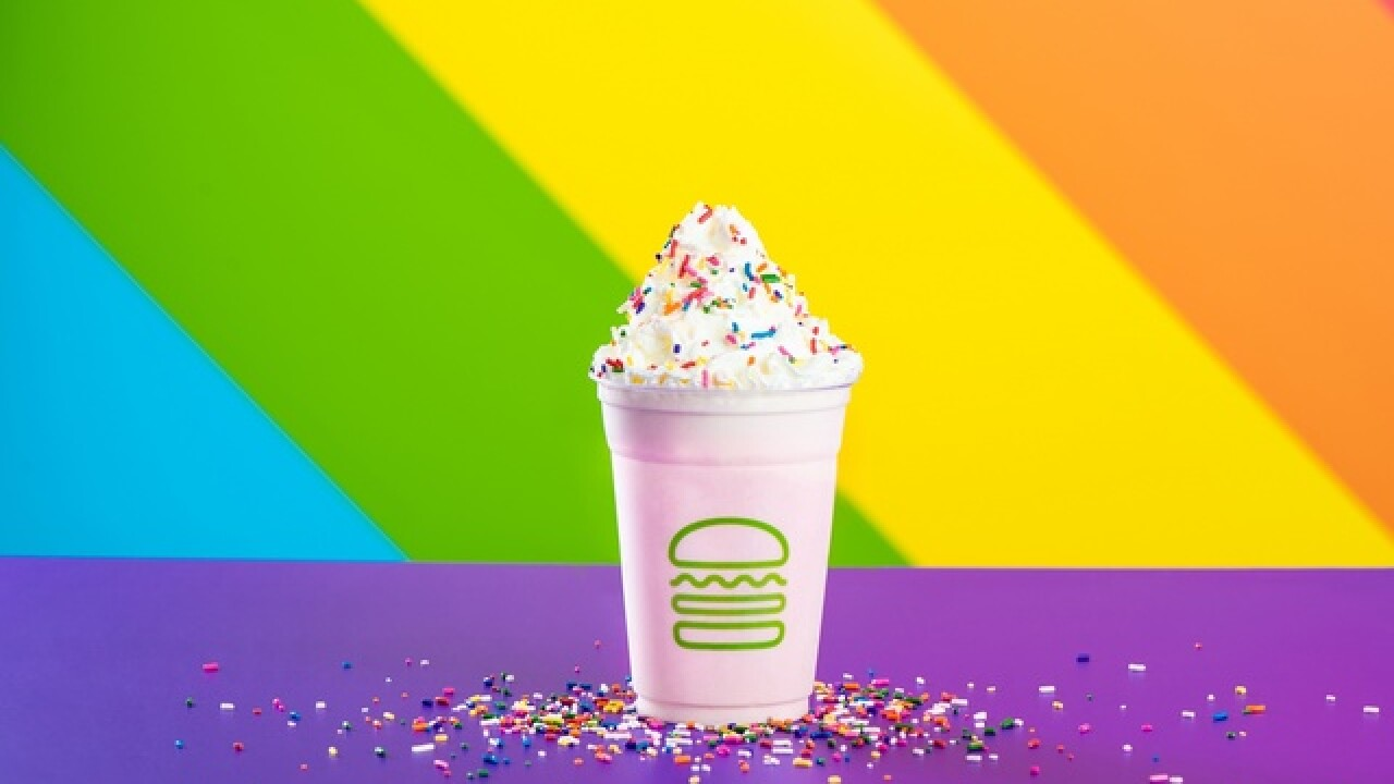 Shake Shack launches Pride Shake in honor of Pride Month