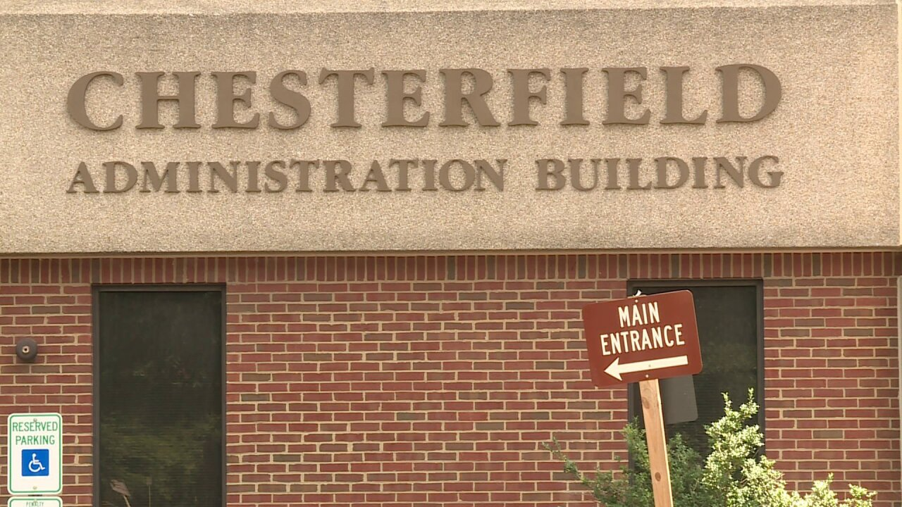 August test revealed legionella bacteria in Chesterfield Administration Building
