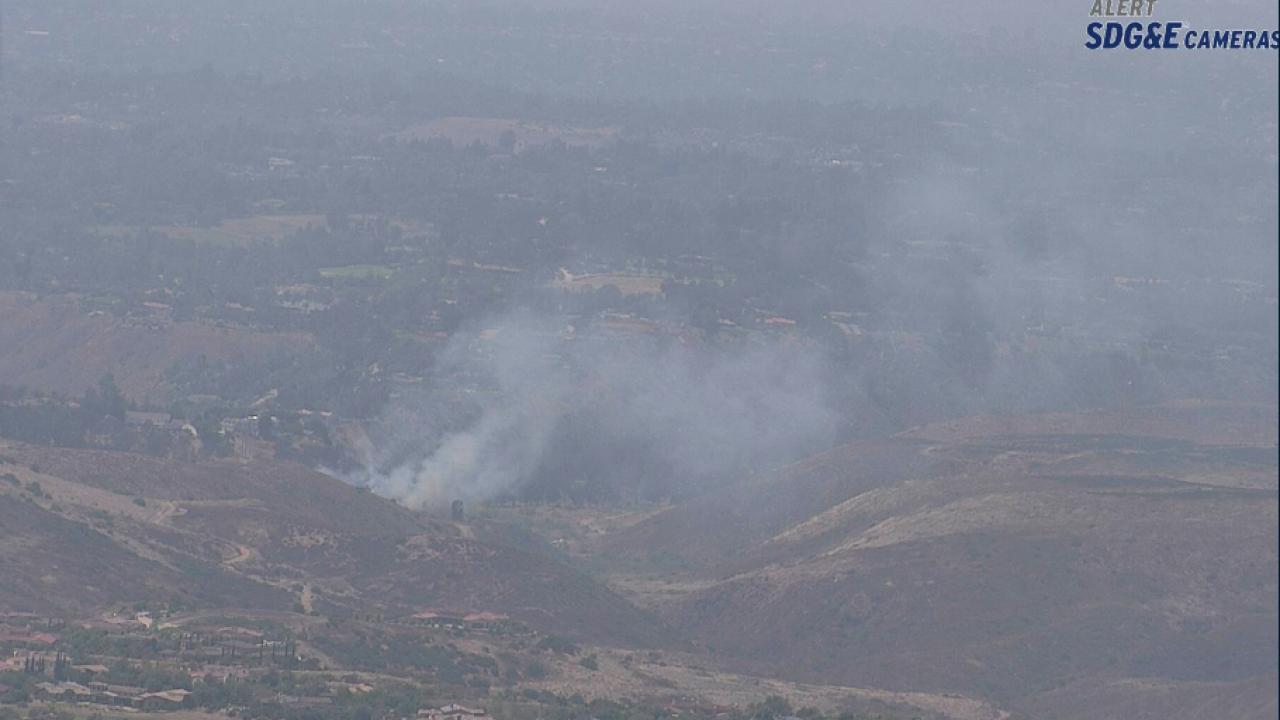 Rancho Santa Fe fire