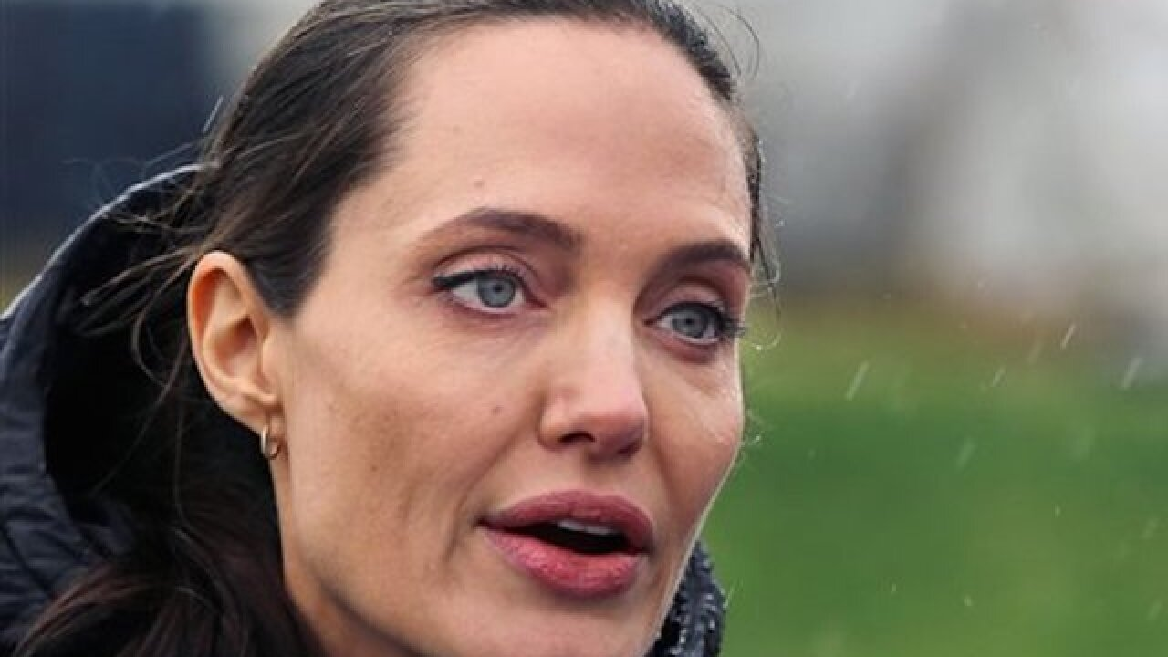 Angelina Jolie says world has failed refugees