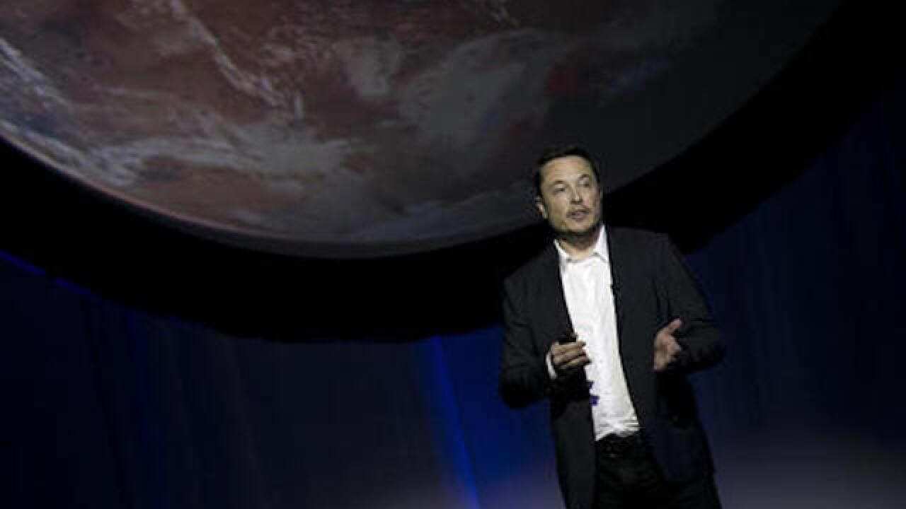 Elon Musk unveils SpaceX's plan to establish a city on Mars