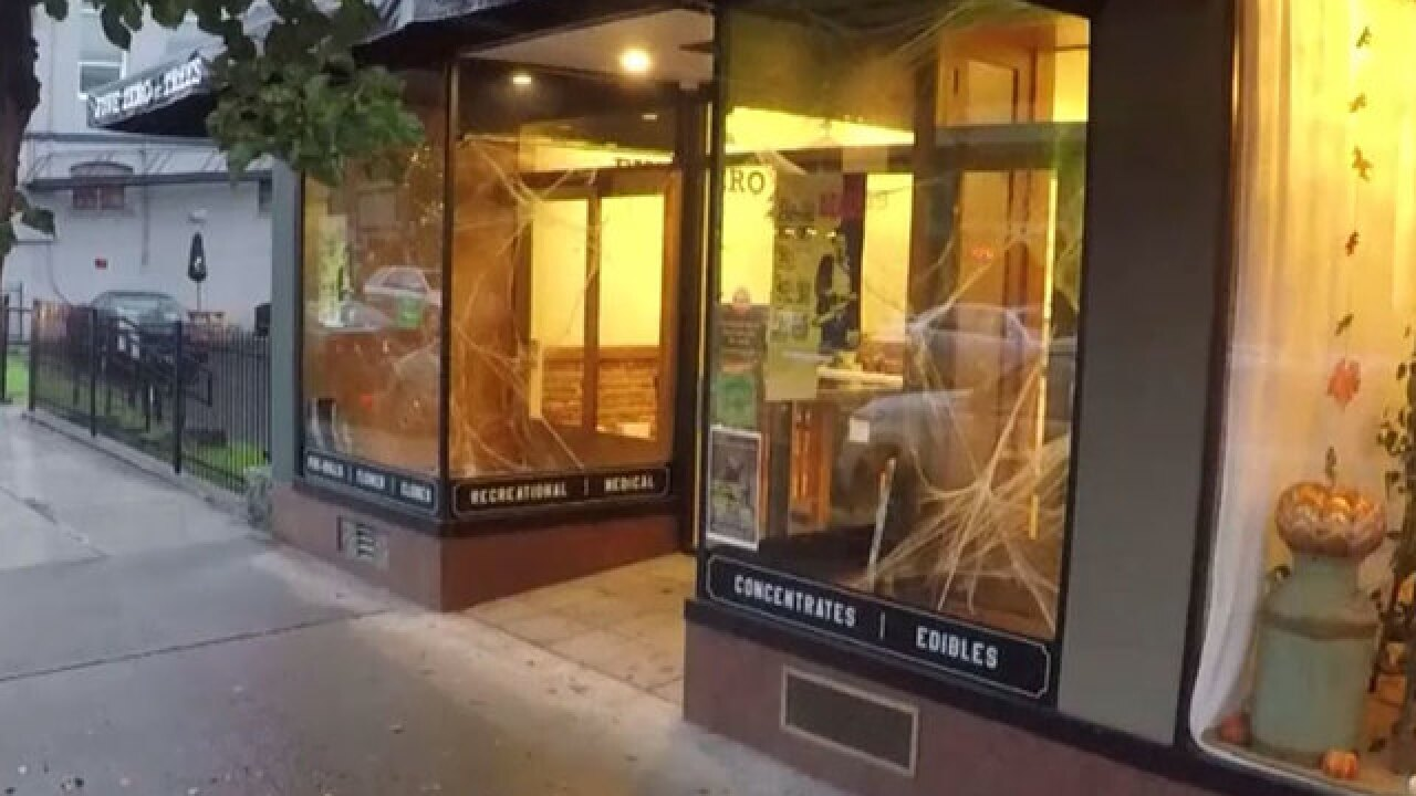 Is this Oregon marijuana shop haunted?