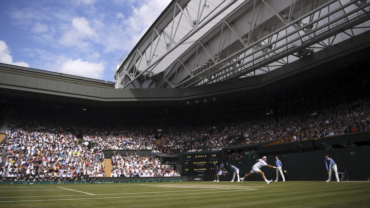 2020 Wimbledon tournament canceled due to COVID-19 pandemic