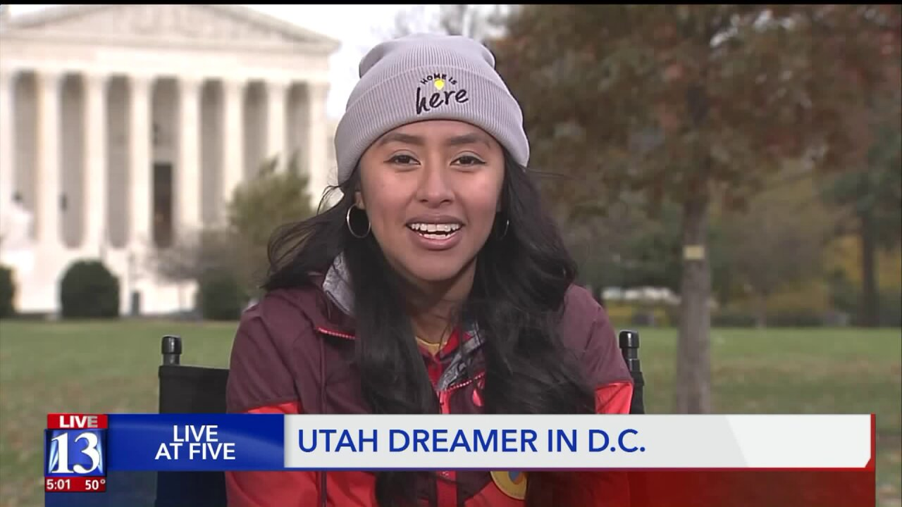 Simple message from one woman to Supreme Court: 'Utah is my home'