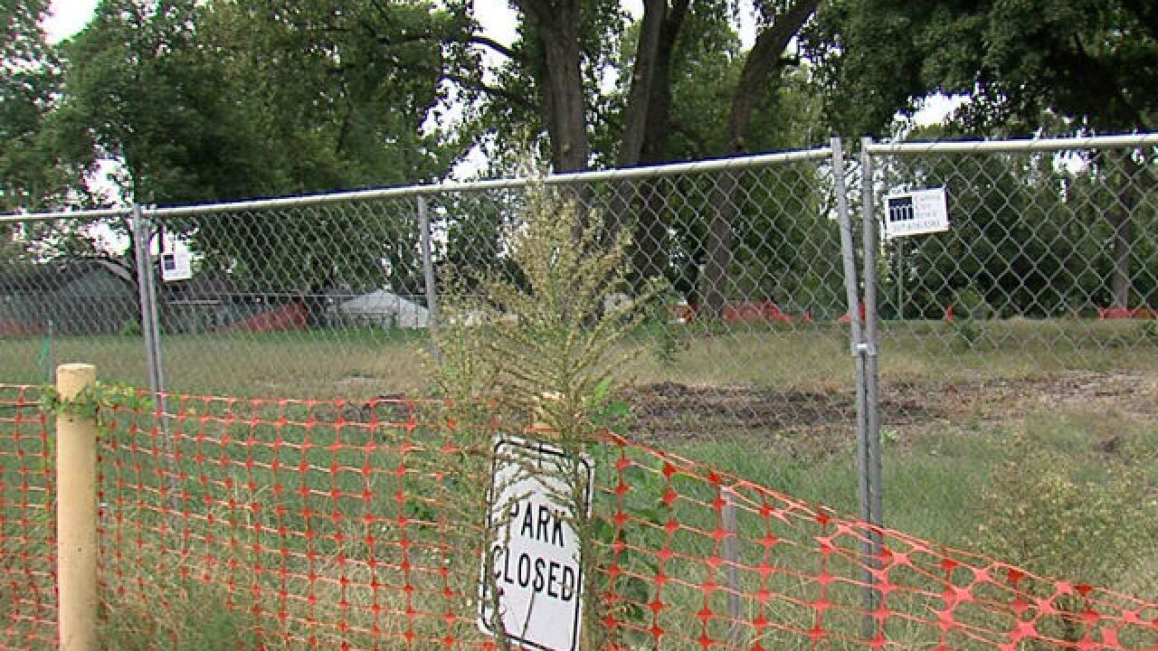 Park still closed weeks after scheduled opening