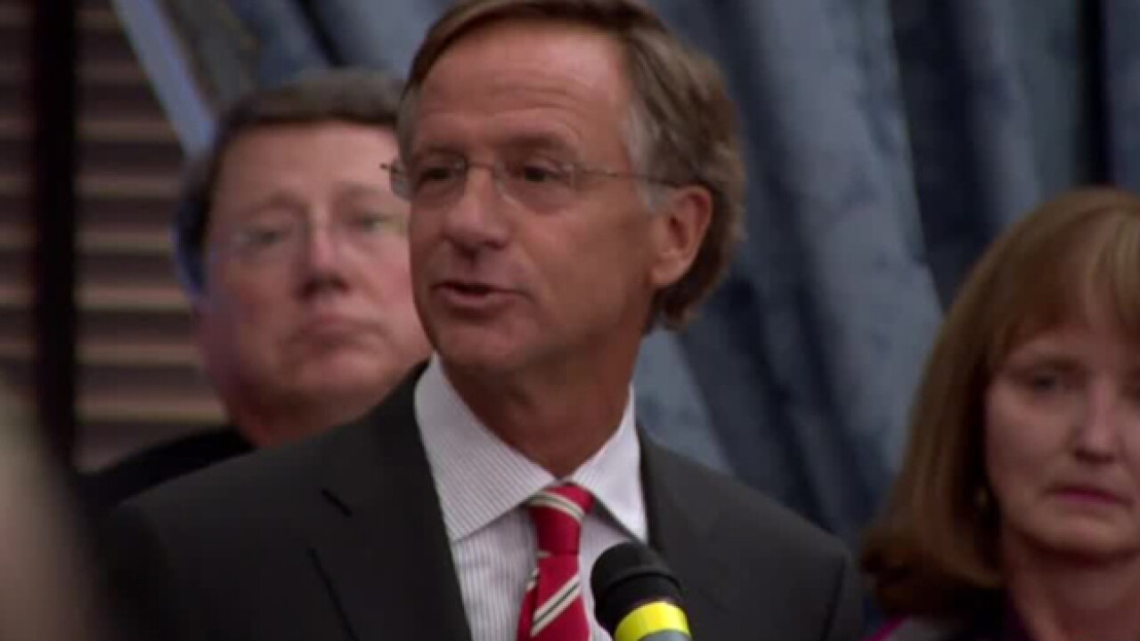 Governor Haslam Unveils Opioid Plan