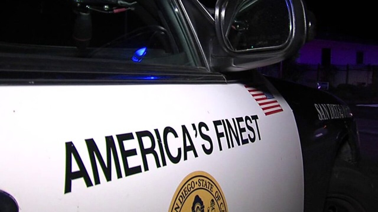 san diego police cruiser America's Finest City
