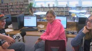 Manhattan Christian School awarded One Class At A Time check