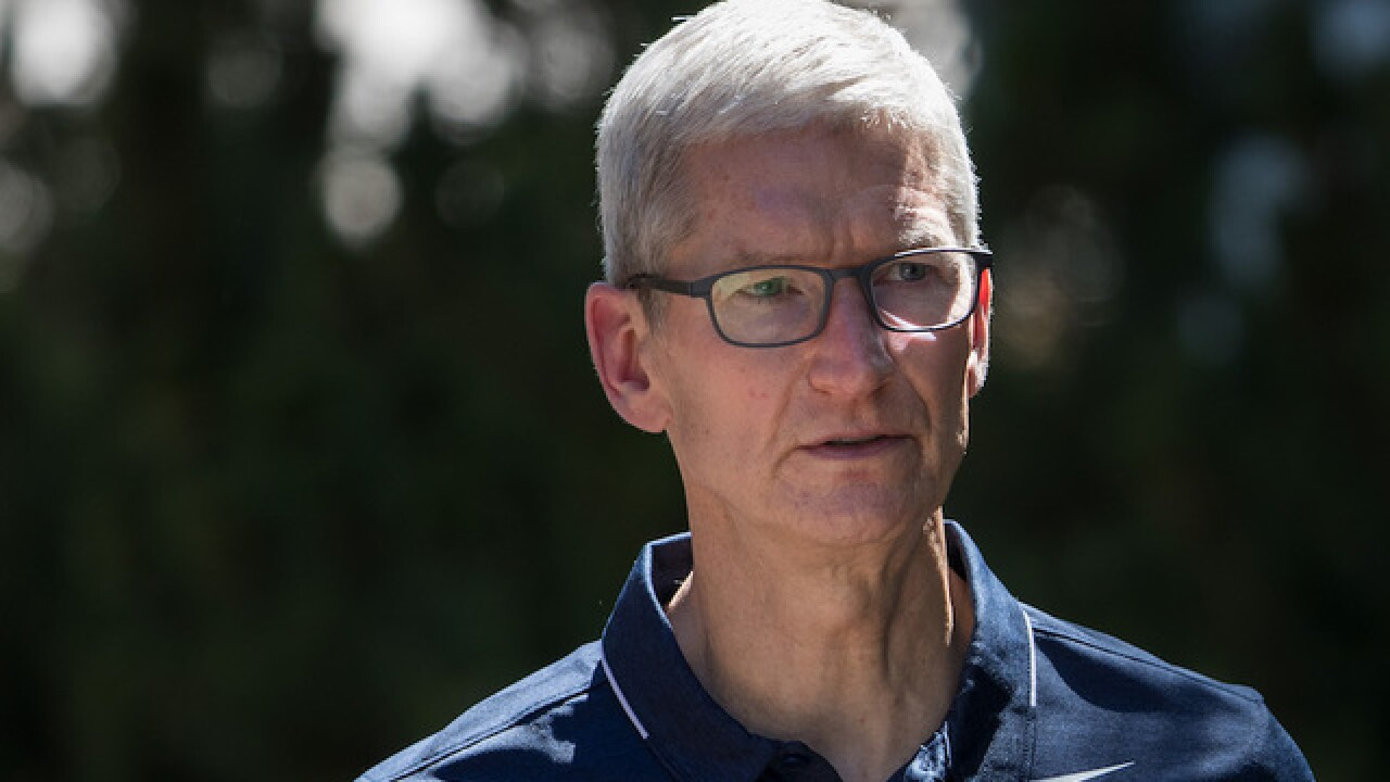 Apple CEO Tim Cook now takes private planes only