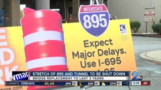 Two year construction project to begin for I-895