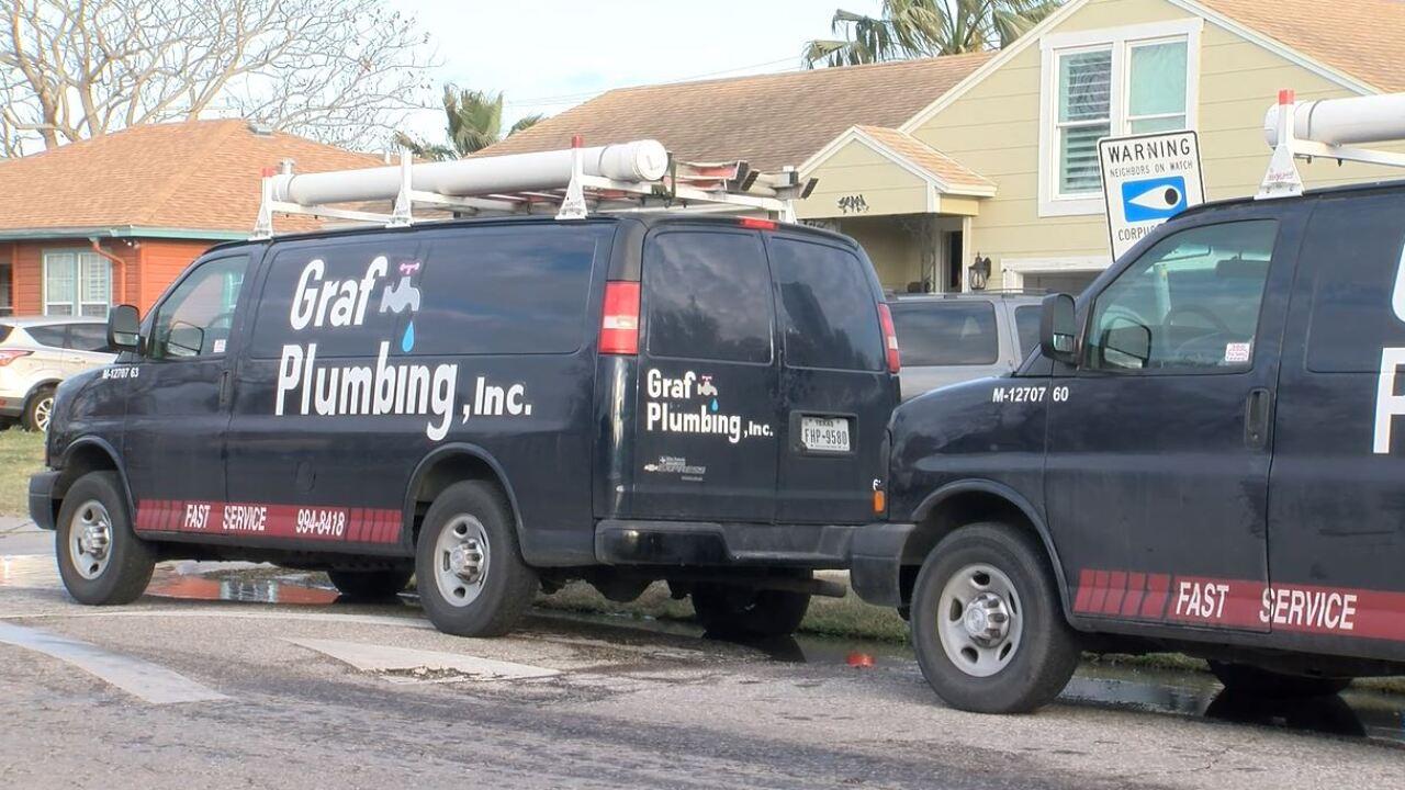 Graf Plumbing work van.JPG