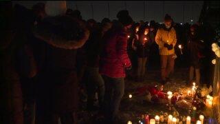 Vigil held for Taylor Derosa in Royal Oak
