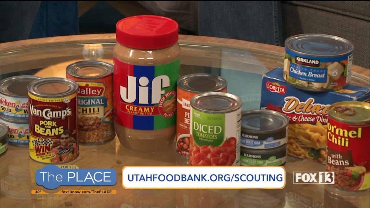Local scouts will be in your neighborhood this weekend collecting food