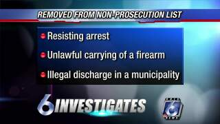 6 Investigates: DA explains a change in his prosecution policy concerning misdemeanors
