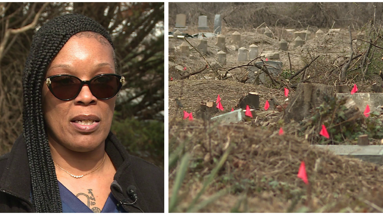 Woman searching for her mom's gravesite at Evergreen Cemetery: 'It breaks myheart'