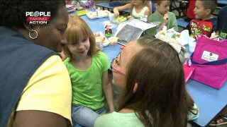 People Taking Action: Longtime Poquoson custodian works hard to make students feelspecial