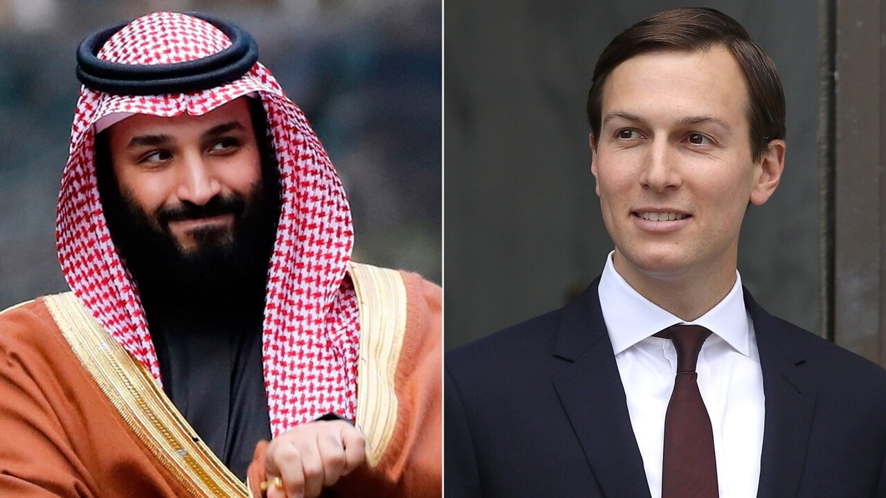 White House announces Kushner met with Saudi crown prince as Cohen testifies