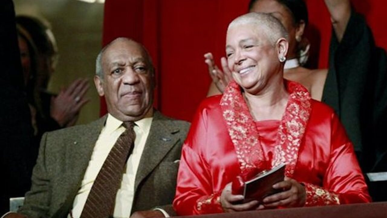 Security is tight at Camille Cosby's deposition