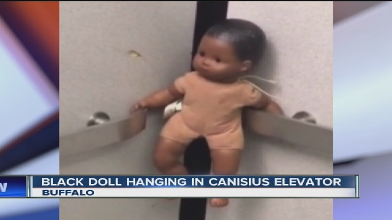 Black doll found hanging at Canisius College in Buffalo