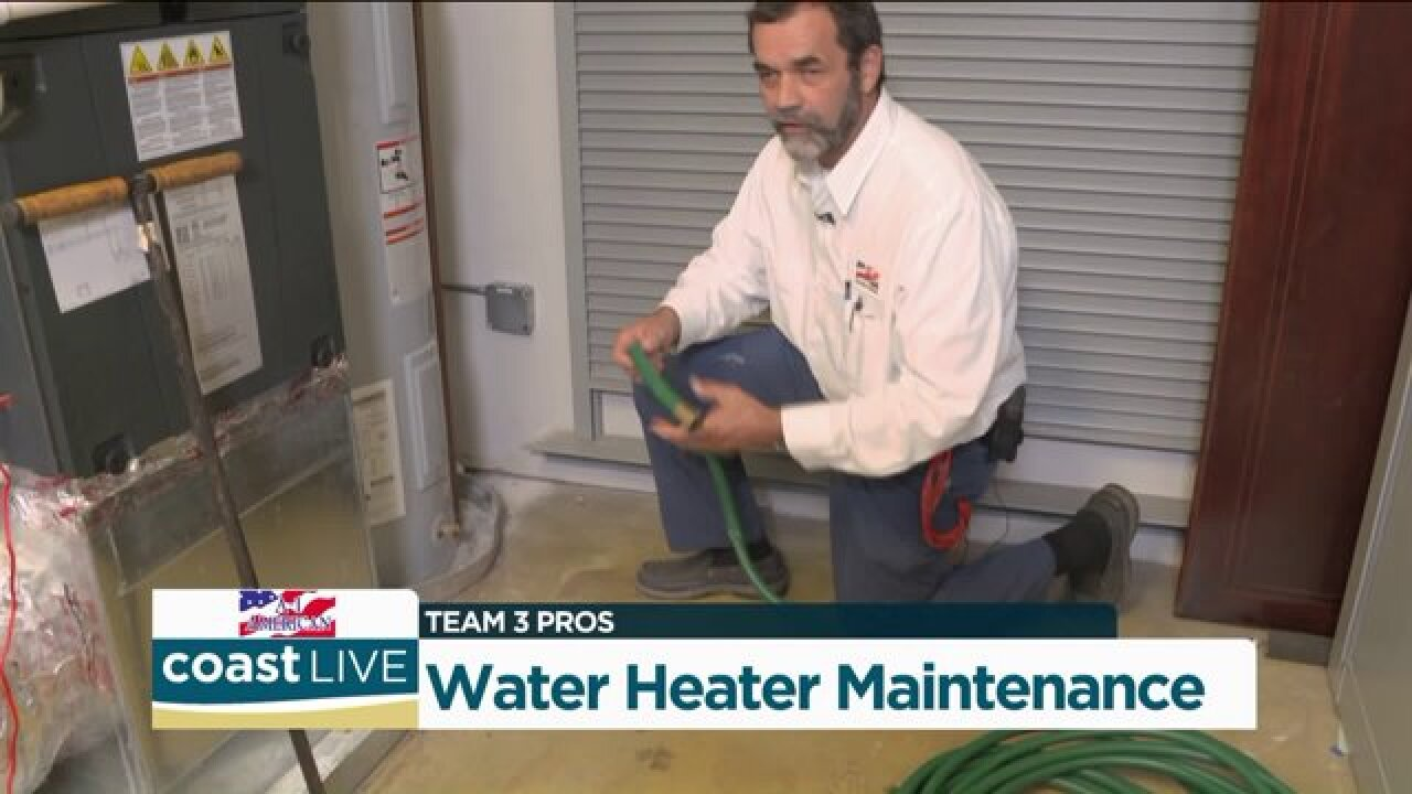 The right way to clean out a water heater from a Team 3 Professional