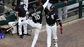 Yoan Moncada, Yermin Mercedes Tigers White Sox Baseball