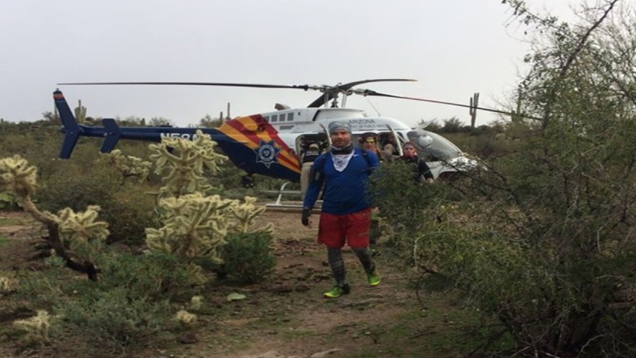 Three hikers missing in Superstition Mountains